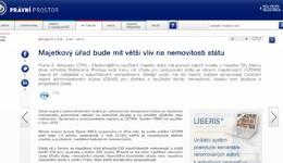 Pravniprostor.cz: Majetkový úřad bude mít větší vliv na nemovitosti státu