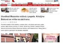 iDNES.cz: Usedlost Mazanka vstává z popela