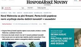 iHNed.cz: Nová Waltrovka se plní firmami